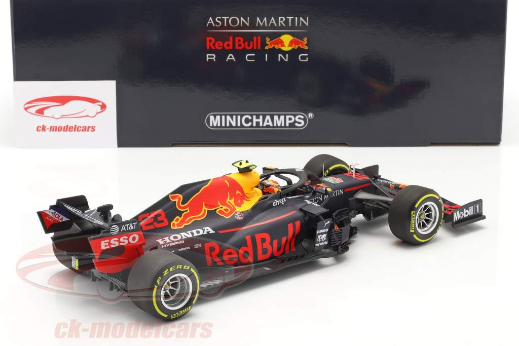 A. Albon Red Bull Racing RB16 #23 4e Styrien GP F1 2020 1:18 Minichamps