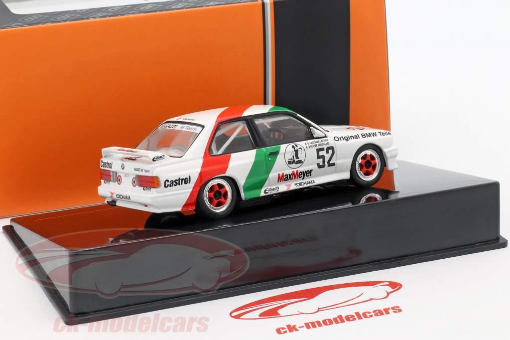 BMW M3 (E30) #52 ETCC 1988 Laffite, Grouillard 1:43 Ixo / 2nd choice