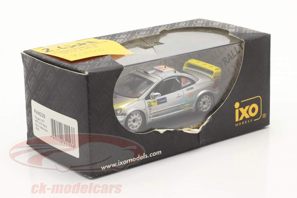 Peugeot 307 WRC #19 se rallier RACC Catalunya 2006 1:43 Ixo / 2. choix