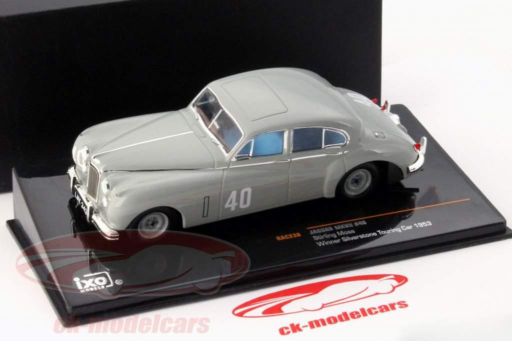 Stirling Moss Jaguar MKVII #40 ganador Silverstone Touring Car 1953 1:43 Ixo / 2. elección