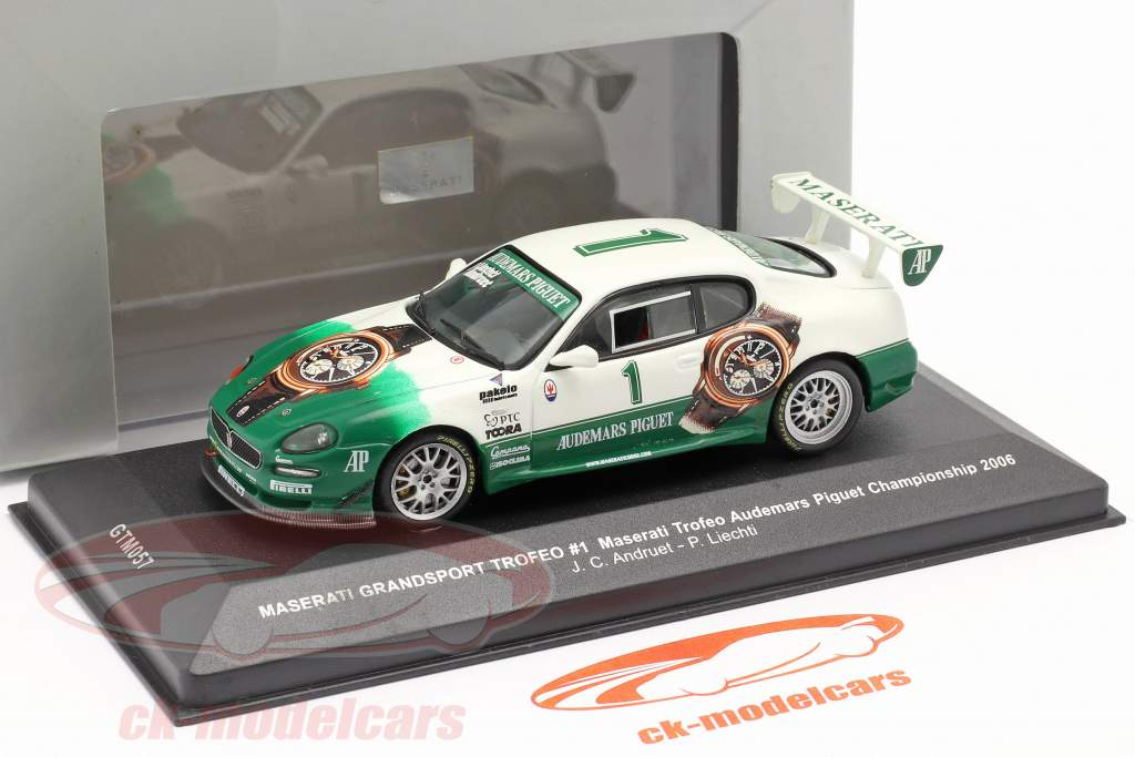 Maserati Grandsport Trofeo #1 Wereldkampioenschap 2006 Andruet, Liechti 1:43 Ixo / 2. keuze