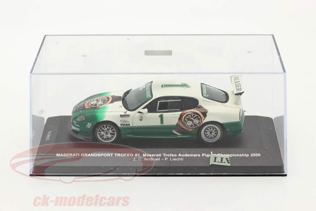 Maserati Grandsport Trofeo #1 World Championship 2006 Andruet, Liechti 1:43 Ixo / 2nd choice
