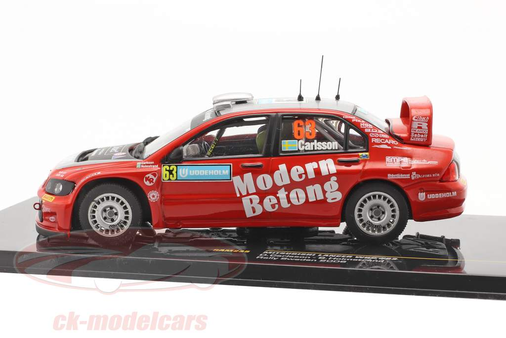 Mitsubishi Lancer WRC #63 Rallye Schweden 2006 Carlsson, Holmstrand 1:43 Ixo