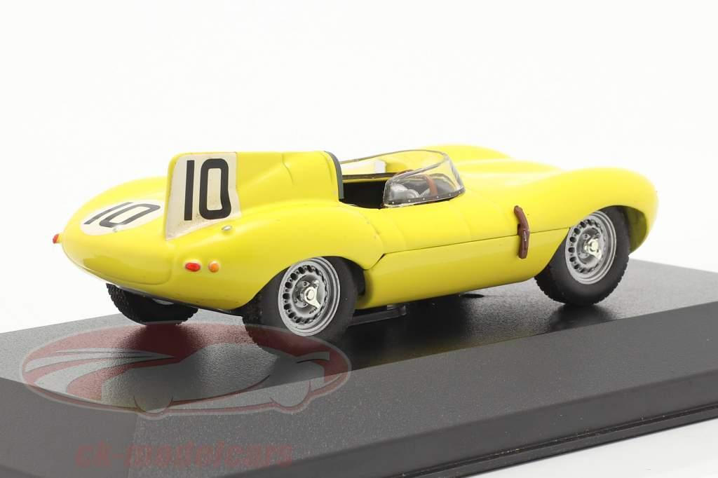 Jaguar D-Type #10 LeMans 1955 Claes, Swaters 1:43 Ixo