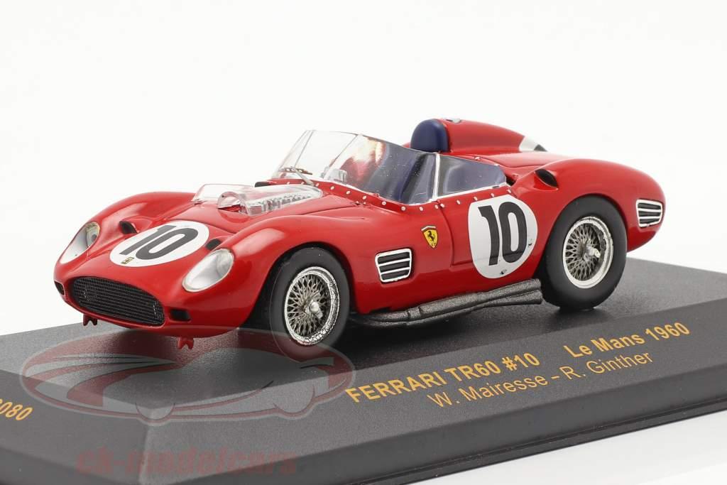 Ferrari TR60 #10 LeMans 1960 Mairesse, Ginther 1:43 Ixo