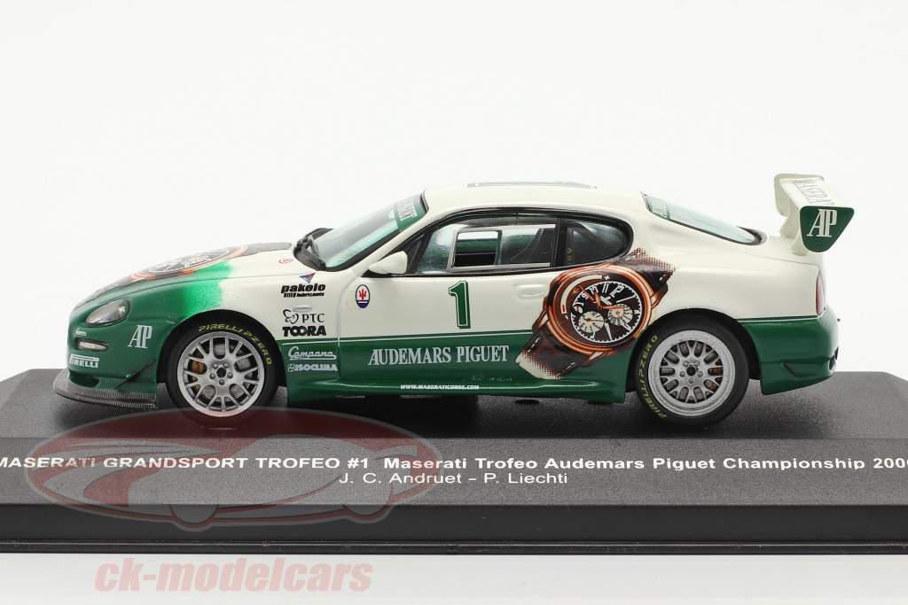 Maserati Grandsport Trofeo #1 kampioenschap 2006 Andruet, Liechti 1:43 Ixo