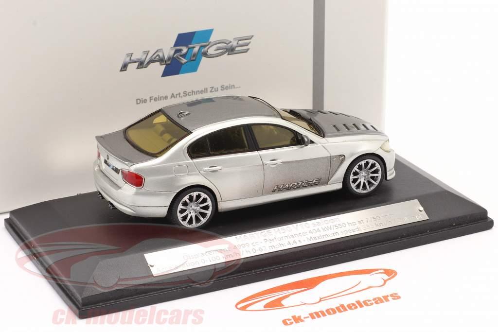BMW Hartge H50 V10 Limousine Baujahr 2006 silber 1:43 Premium X