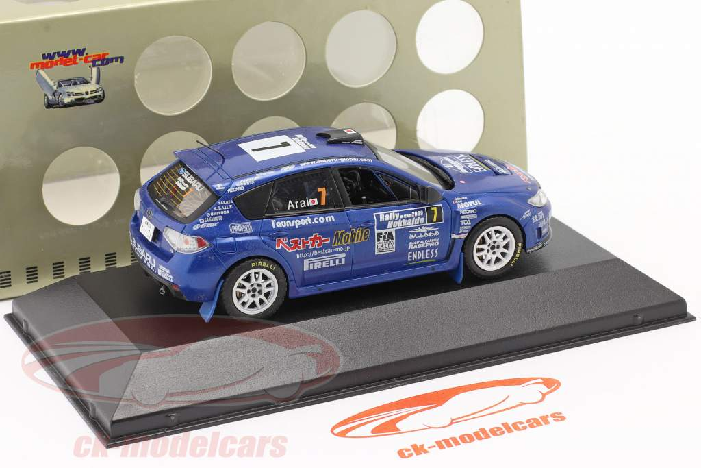 Subaru Impreza WRX STI #7 samle Hokkaido 2009 Arai, Macneall 1:43 Ixo