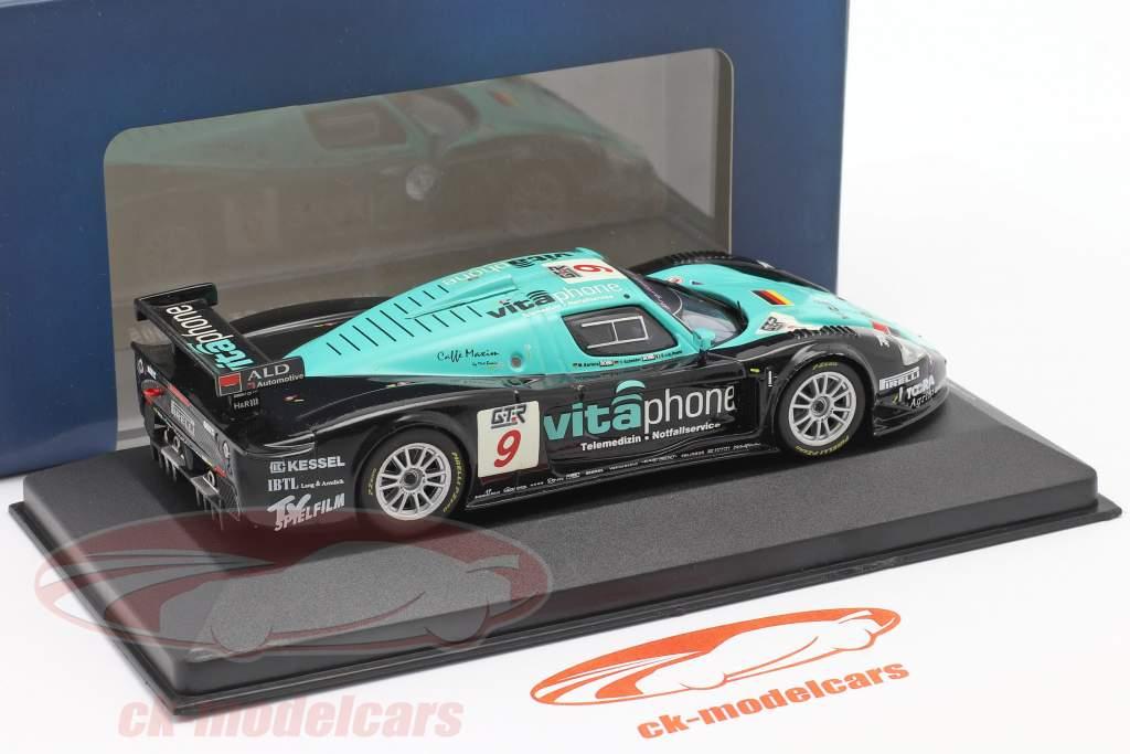 Maserati MC12 #9 gagnant FIA GT Spa 2005 V de Poele, Bartels, Schneider 1:43 Ixo
