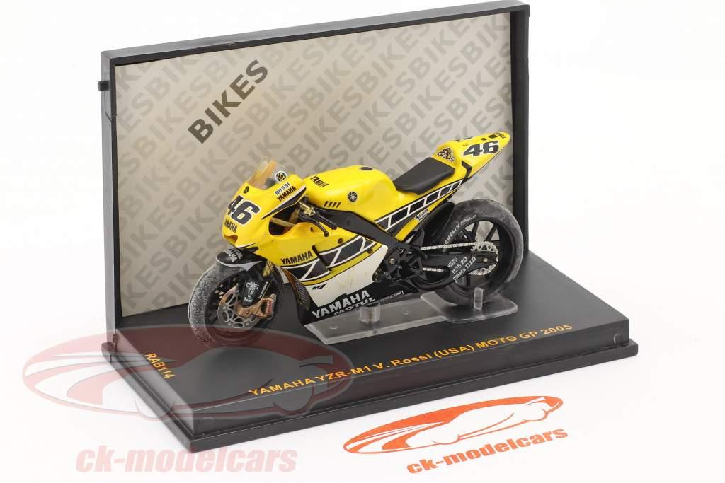 V. Rossi Yamaha YZR-M1 #46 MotoGP 2005 1:24 Ixo