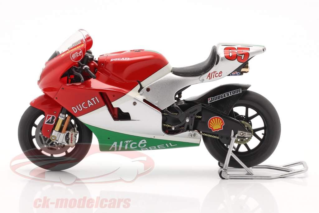 Loris Capirossi Ducati Desmosedici #65 Moto GP 2006 1:12 Ixo
