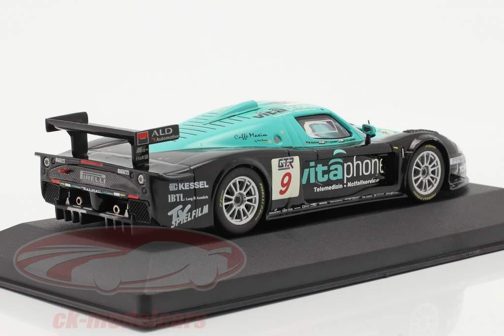 Maserati MC12 #9 vincitore FIA GT Spa 2005 V de Poele, Bartels, Schneider 1:43 Ixo