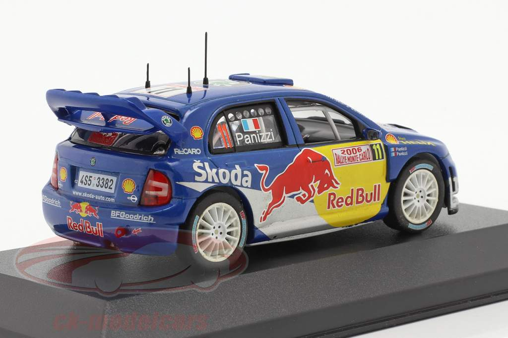 Skoda Fabia WRC #11 samle Monte Carlo 2006 Panizzi, Panizzi 1:43 Ixo