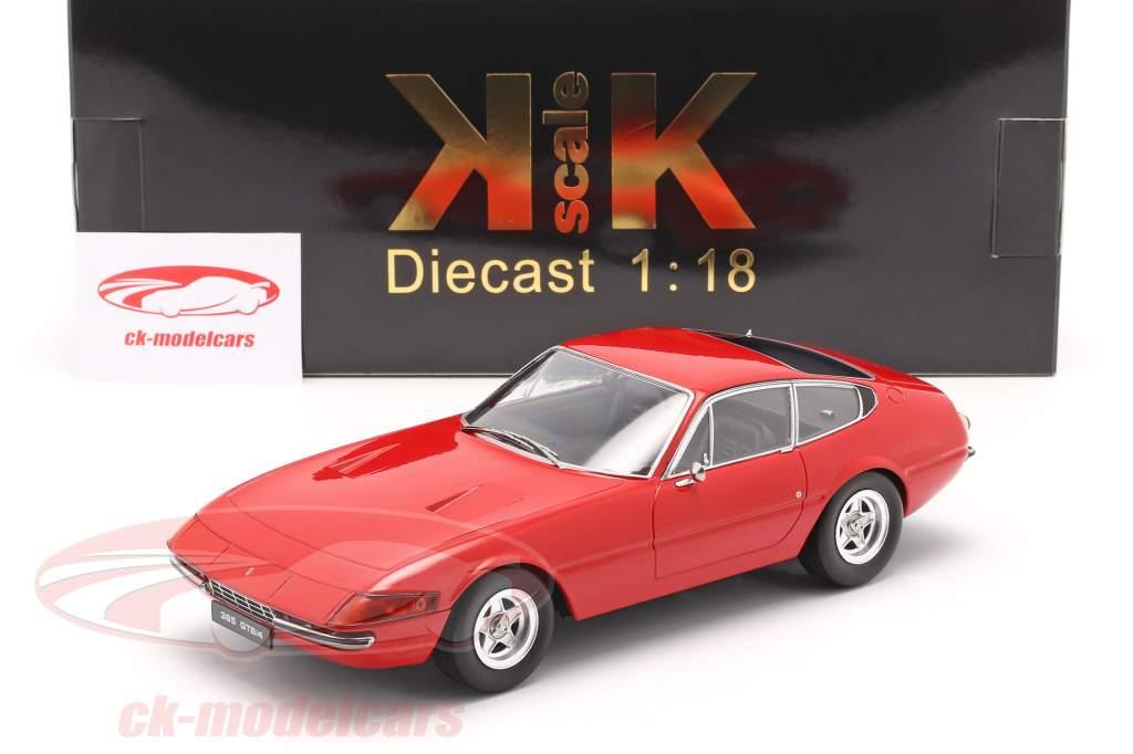 Ferrari 365 GTB/4 Daytona Coupe Serie 2 1971 rosso 1:18 KK-Scale