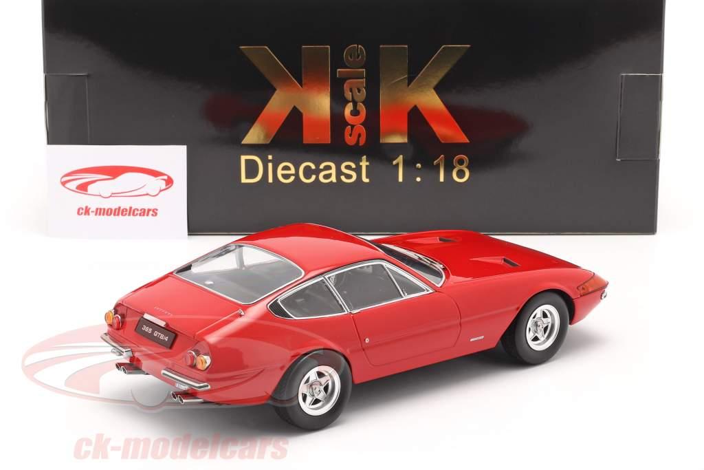 Ferrari 365 GTB/4 Daytona Coupe Series 2 1971 red 1:18 KK-Scale