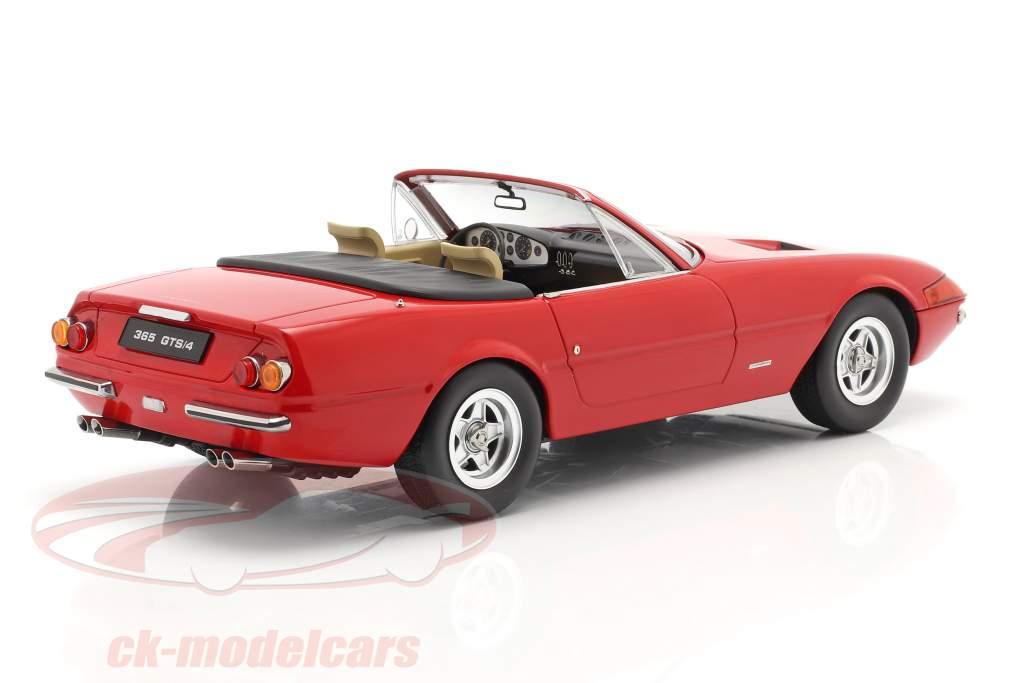 Ferrari 365 GTB/4 Daytona Cabriolet 2. Serie 1971 rot 1:18 KK-Scale
