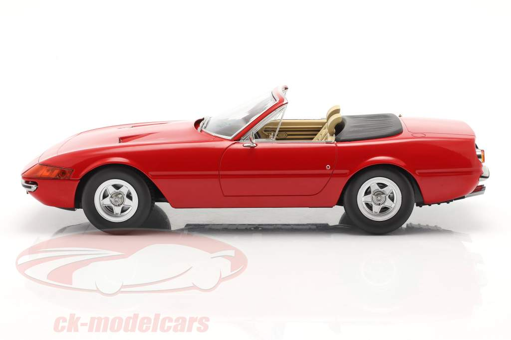 Ferrari 365 GTB/4 Daytona Convertibile Serie 2 1971 rosso 1:18 KK-Scale
