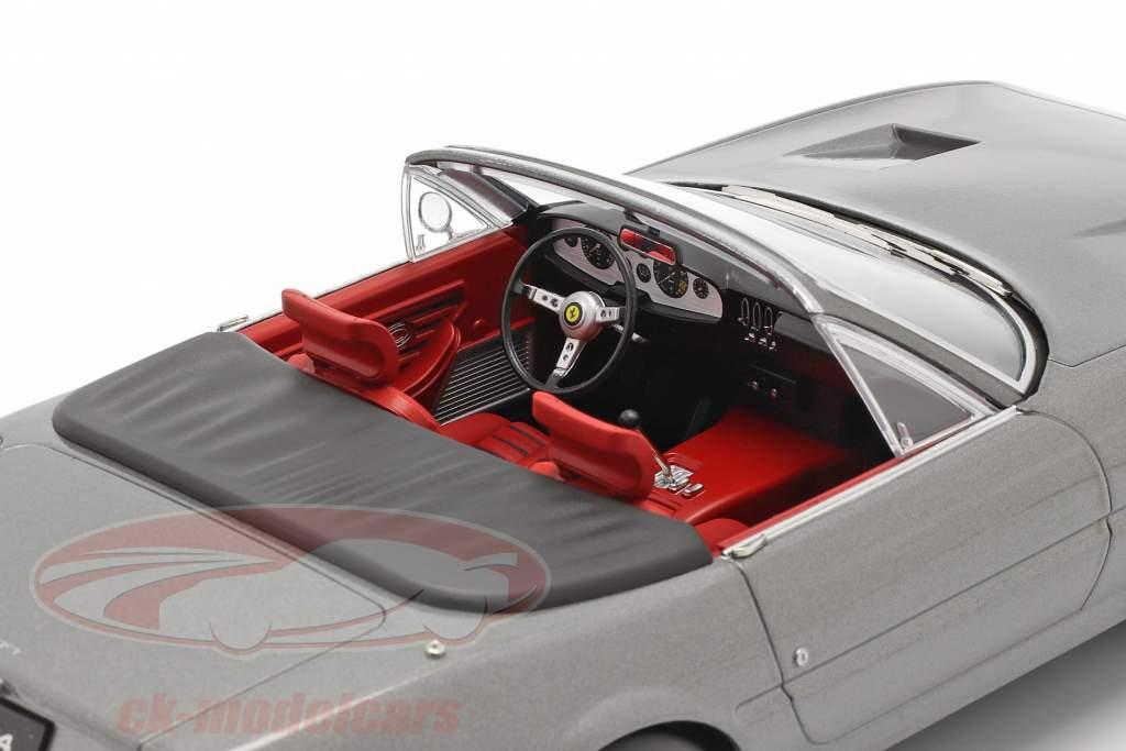 Ferrari 365 GTB/4 Daytona Cabriolet Series 2 1971 grau metallic 1:18 KK-Scale