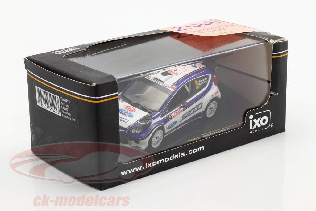 Ford Fiesta S2000 #2 Hirvonen, Lehtinen samle Monte Carlo 2010 1:43 Ixo / 2. valg
