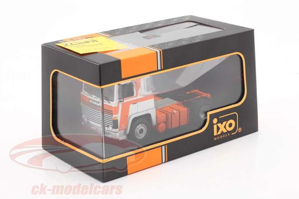 Scania LBT 141 Tractor unidad año 1976 naranja / blanco 1:43 Ixo / 2do elección