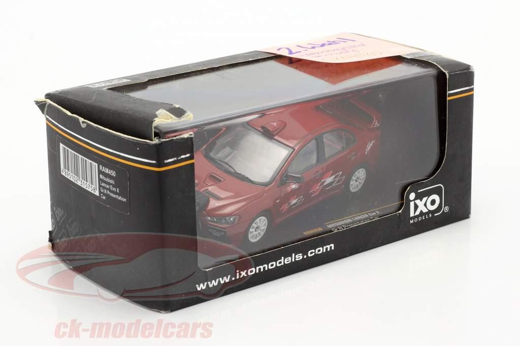 Mitsubishi Lancer Evo X Gr. N Presentation car 1:43 Ixo / 2. keuze