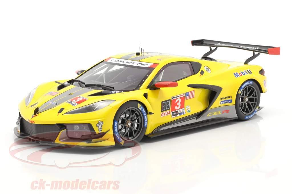 Chevrolet Corvette C8.R #3 4. Platz 24h Daytona 2020 Corvette Racing 1:18 TrueScale