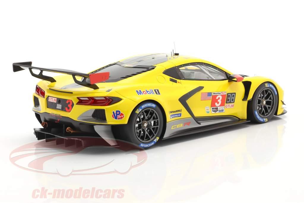 Chevrolet Corvette C8.R #3 24h Daytona 2020 Corvette Racing 1:18 TrueScale