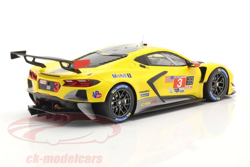 Chevrolet Corvette C8.R #3 4th Place 24h Daytona 2020 Corvette Racing 1:18 TrueScale