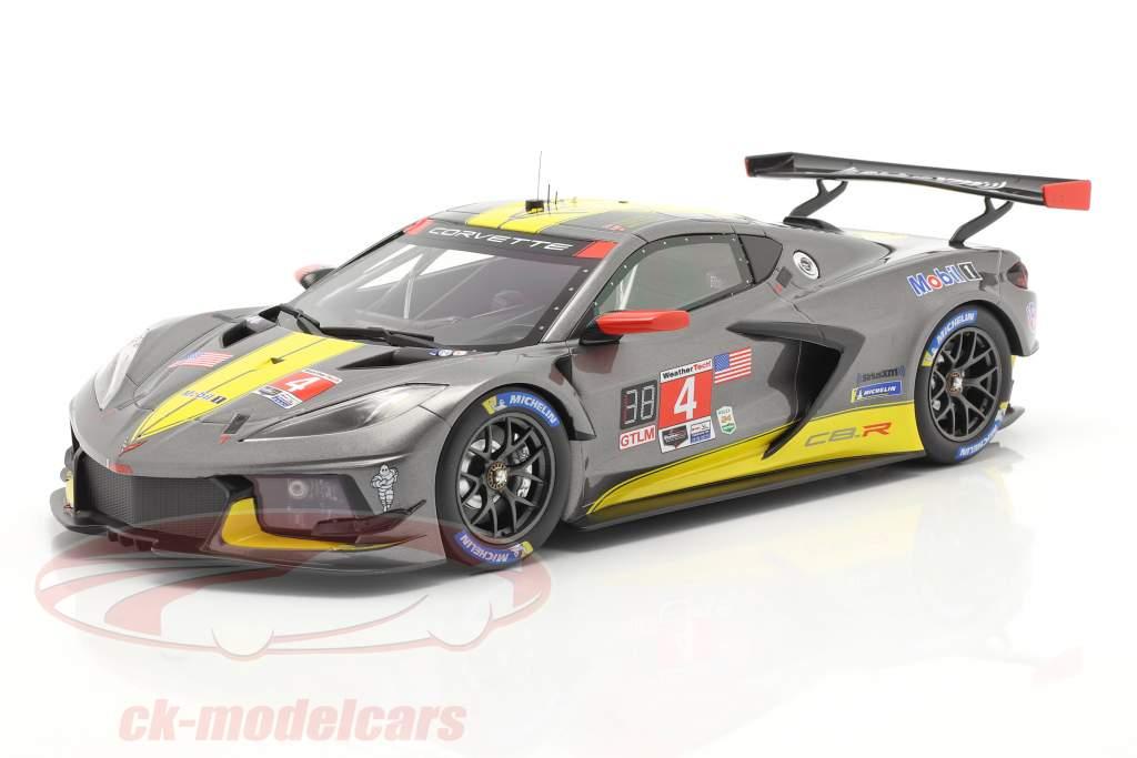 Chevrolet Corvette C8.R #4 24h Daytona 2020 Corvette Racing 1:18 TrueScale