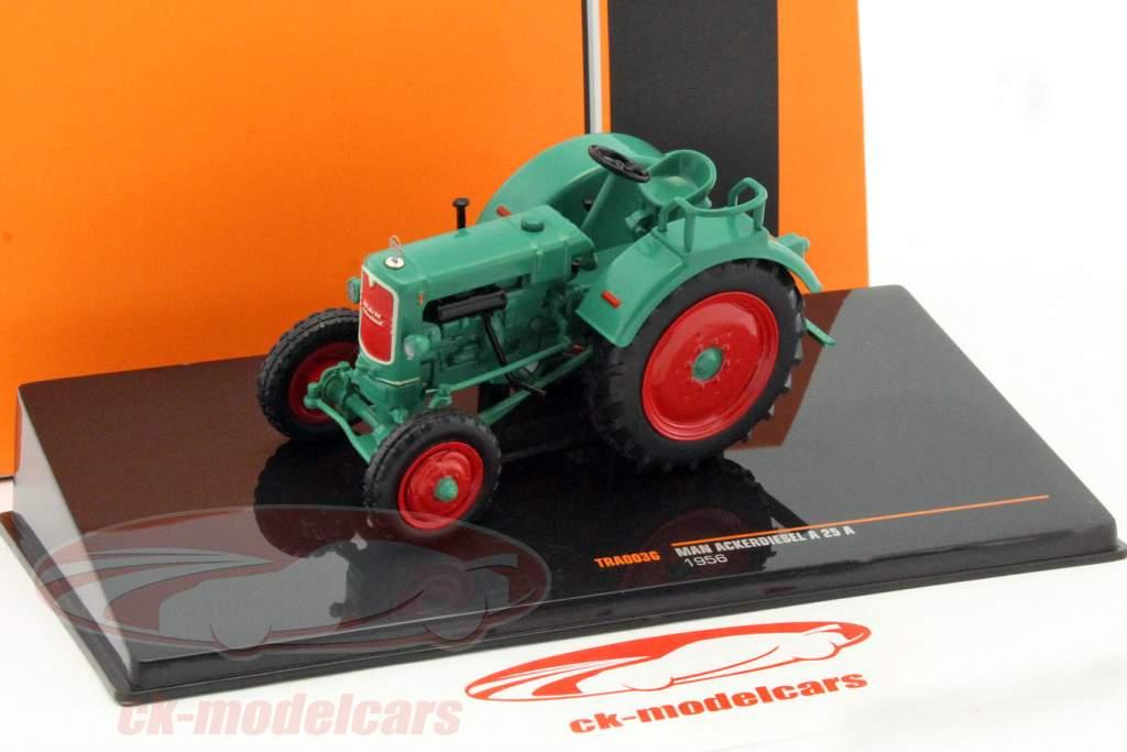 MAN Ackerdiesel A25 A an 1956 vert 1:43 Ixo / 2e choix