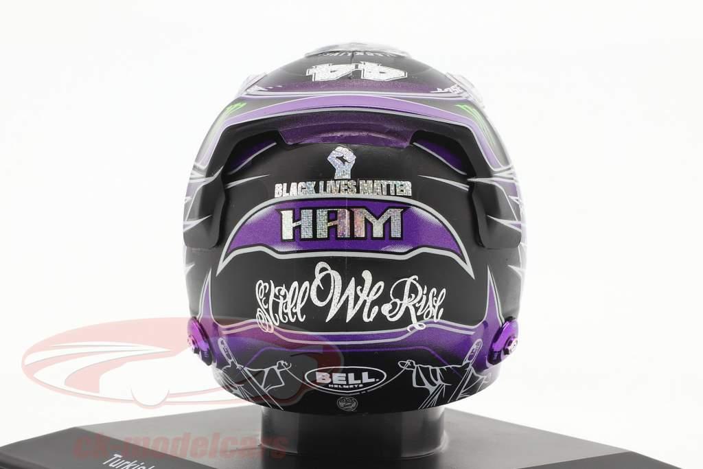 L. Hamilton #44 Mercedes-AMG Petronas Turkish GP formula 1 World Champion 2020 helmet 1:5 Spark