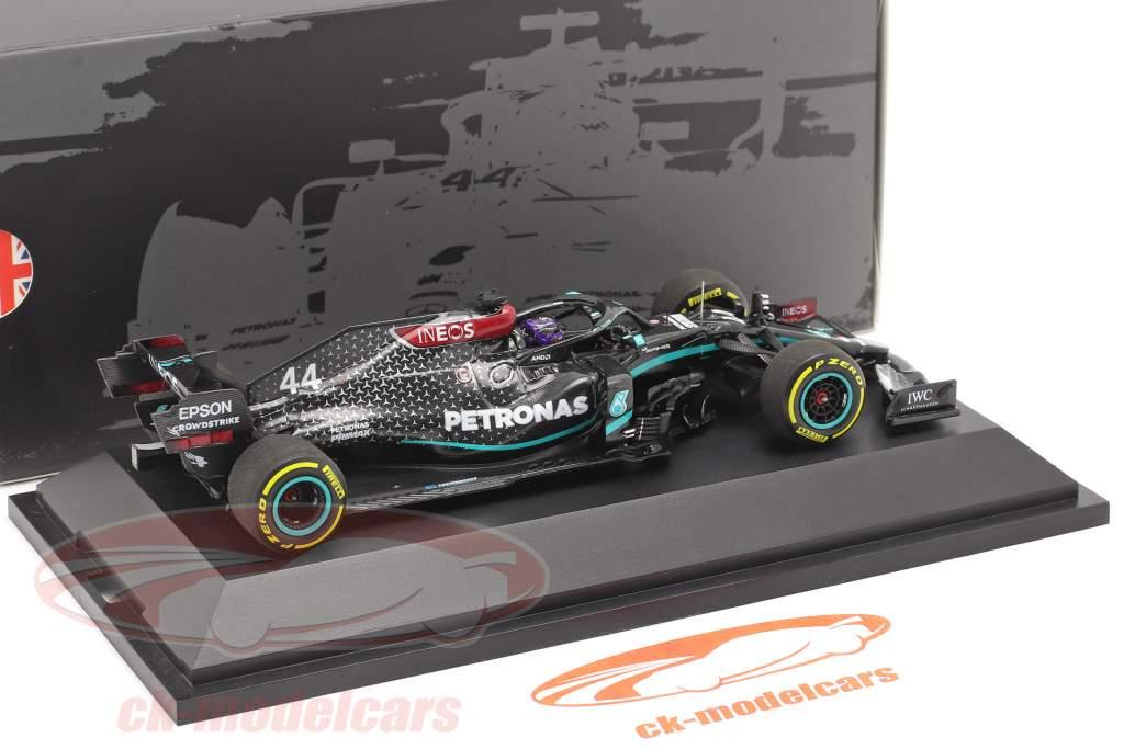 Lewis Hamilton Mercedes-AMG F1 W11 #44 Formel 1 Weltmeister 2020 1:43 Minichamps