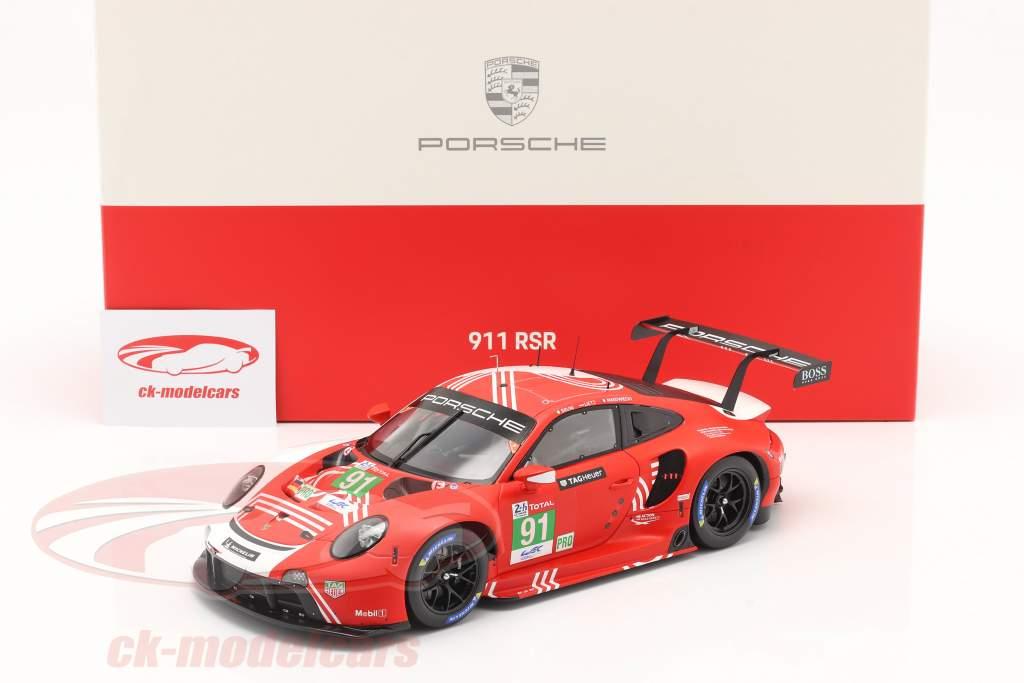 Porsche 911 RSR #91 24h LeMans 2020 Bruni, Lietz, Makowiecki 1:18 Spark