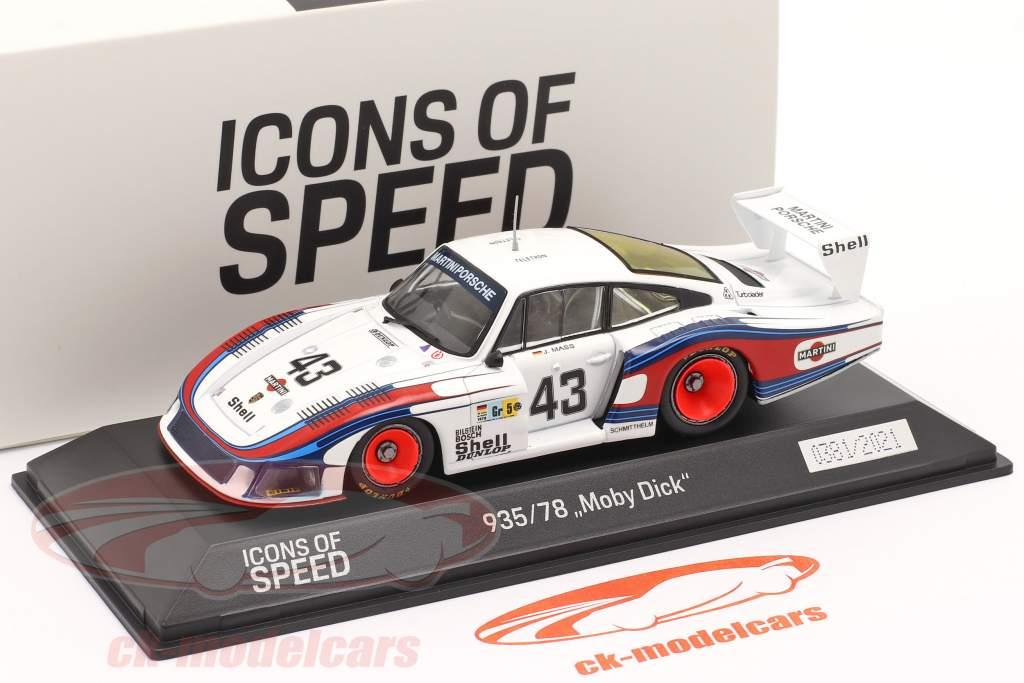 Porsche 935/78 Moby Dick #43 8th 24h LeMans 1978 Schurti, Stommelen 1:43 Spark