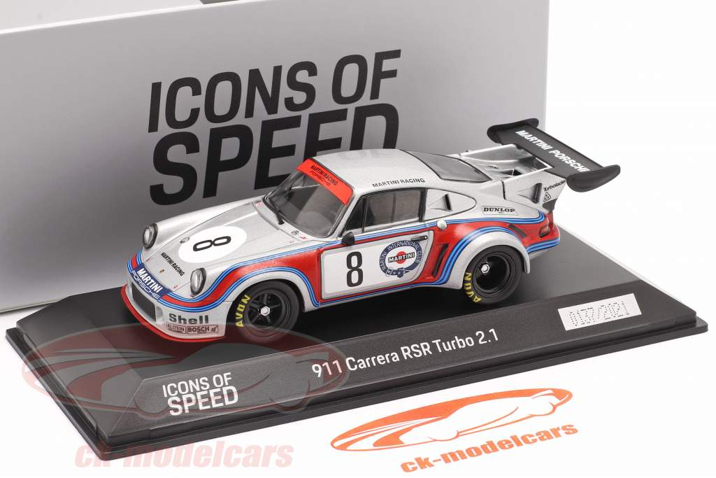 Porsche 911 Carrera RSR Turbo #8 Martini Racing 1000km Nürburgring 1974 1:43 Spark