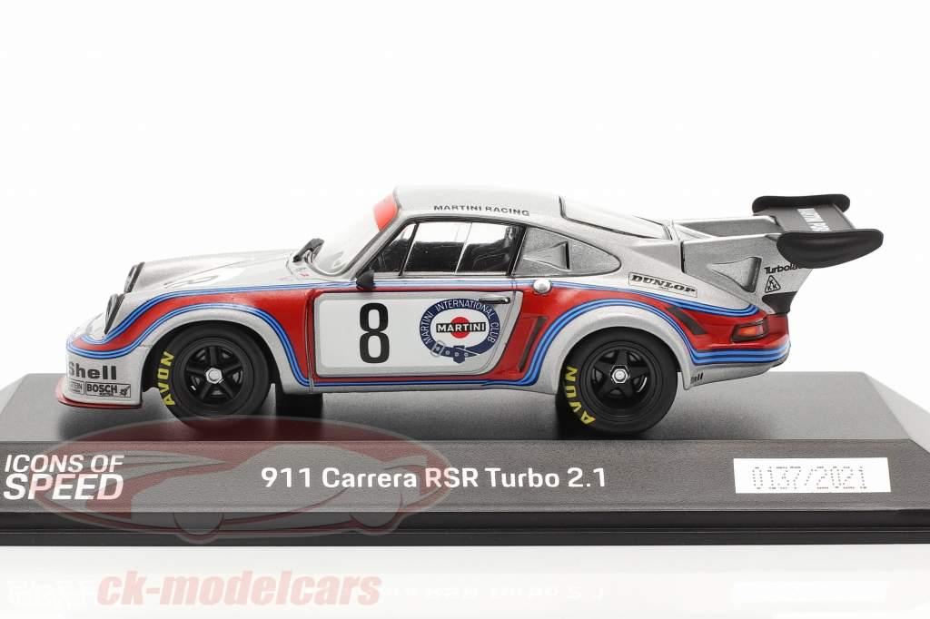 Porsche 911 Carrera RSR 2.1 Turbo #8 1000km Nürburgring 1974 1:43 Spark