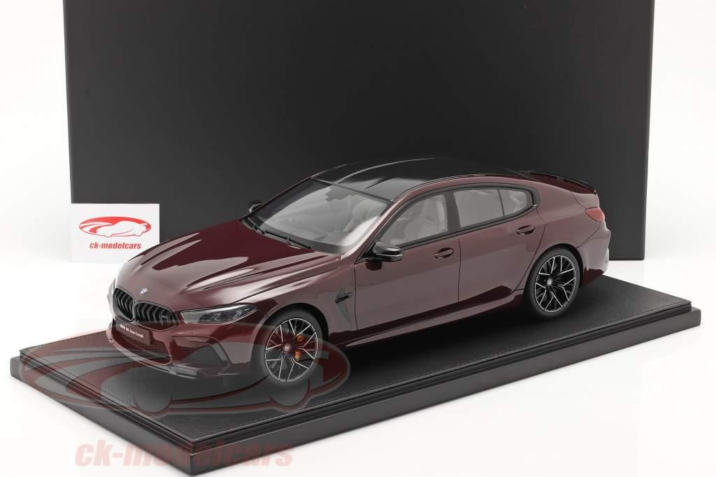 BMW M8 Gran Coupe Bouwjaar 2020 ametrin rood metalen 1:12 Kyosho