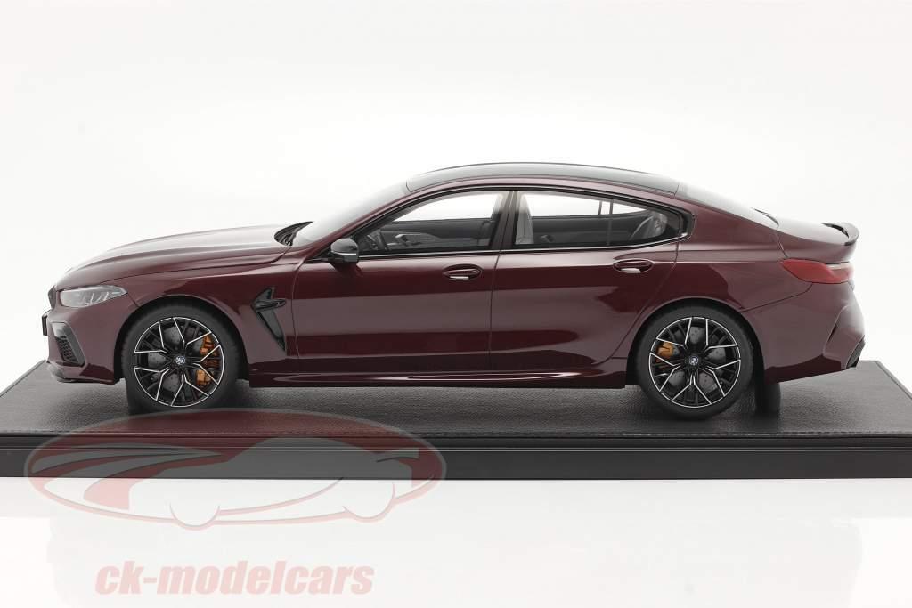 BMW M8 Gran Coupe Año de construcción 2020 ametrin rojo metálico 1:12 Kyosho