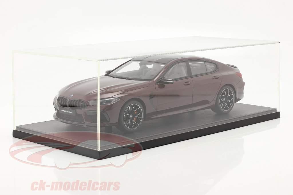 BMW M8 Gran Coupe Ano de construção 2020 ametrin vermelho metálico 1:12 Kyosho