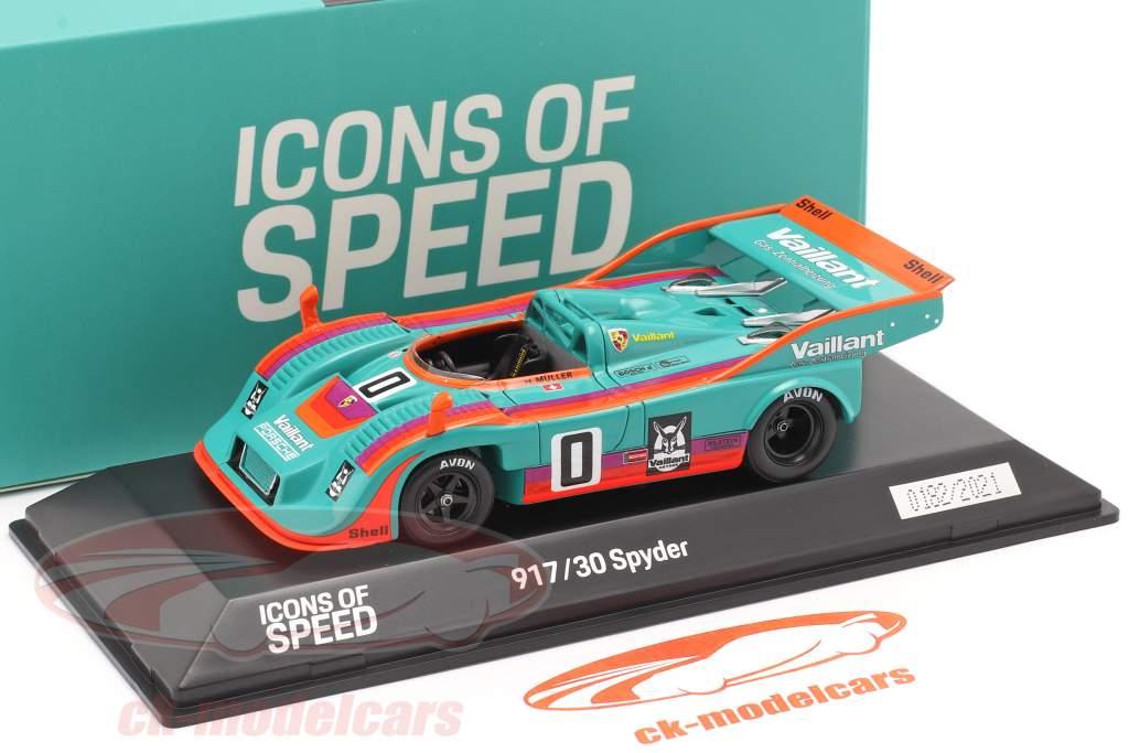 Porsche 917/30 Spyder #0 winner Interserie 1975 H. Müller 1:43 Spark