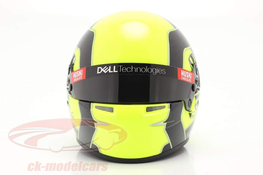 Lando Norris #4 McLaren F1 Team formule 1 2021 helm 1:2 Bell