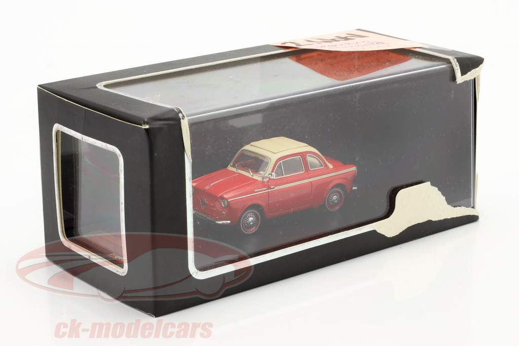 NSU-Fiat Weinsberg 500 anno 1960 rosso 1:43 Premium X / 2 ° scelta