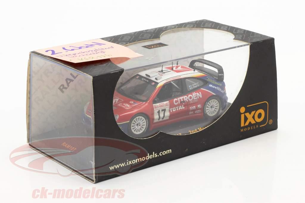 Citroen Xsara WRC #17 Rallye Monte Carlo 2003 McRae, Ringer 1:43 Ixo / 2. Wahl