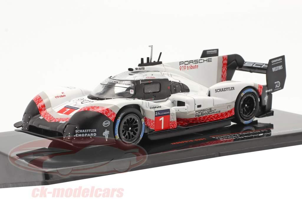 Porsche 919 Hybrid Evo #1 Volta recorde Nürburgring 2018 Timo Bernhard 1:43 Ixo