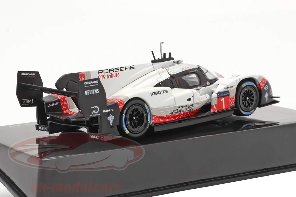 Porsche 919 Hybrid Evo #1 ラップを記録する Nürburgring 2018 Timo Bernhard 1:43 Ixo