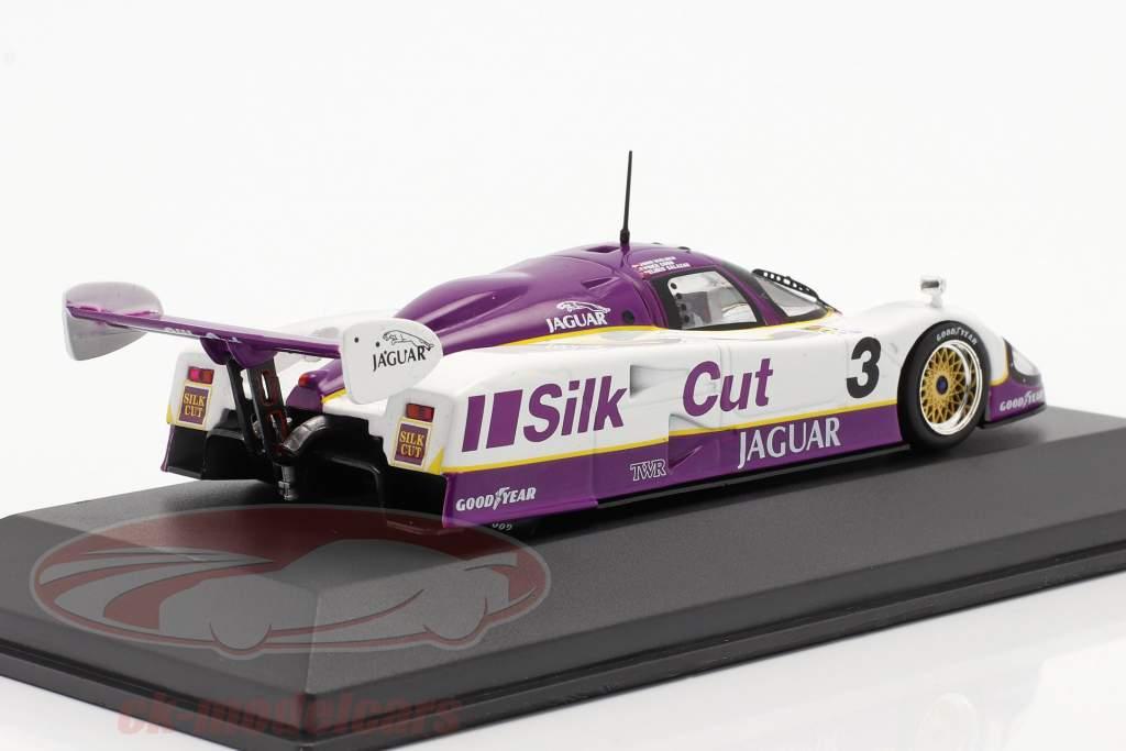 Jaguar XJR-12 #3 vencedora 24h LeMans 1990 Nielsen, Cobb, Brundle 1:43 Ixo