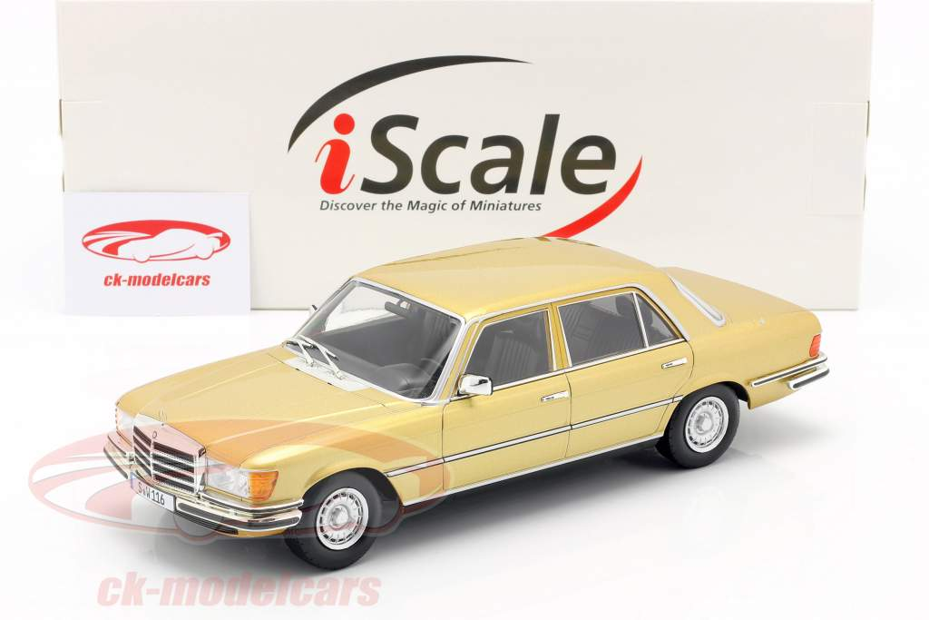 Mercedes-Benz Classe S 450 SEL 6.9 (W116) 1975-1980 or 1:18 iScale