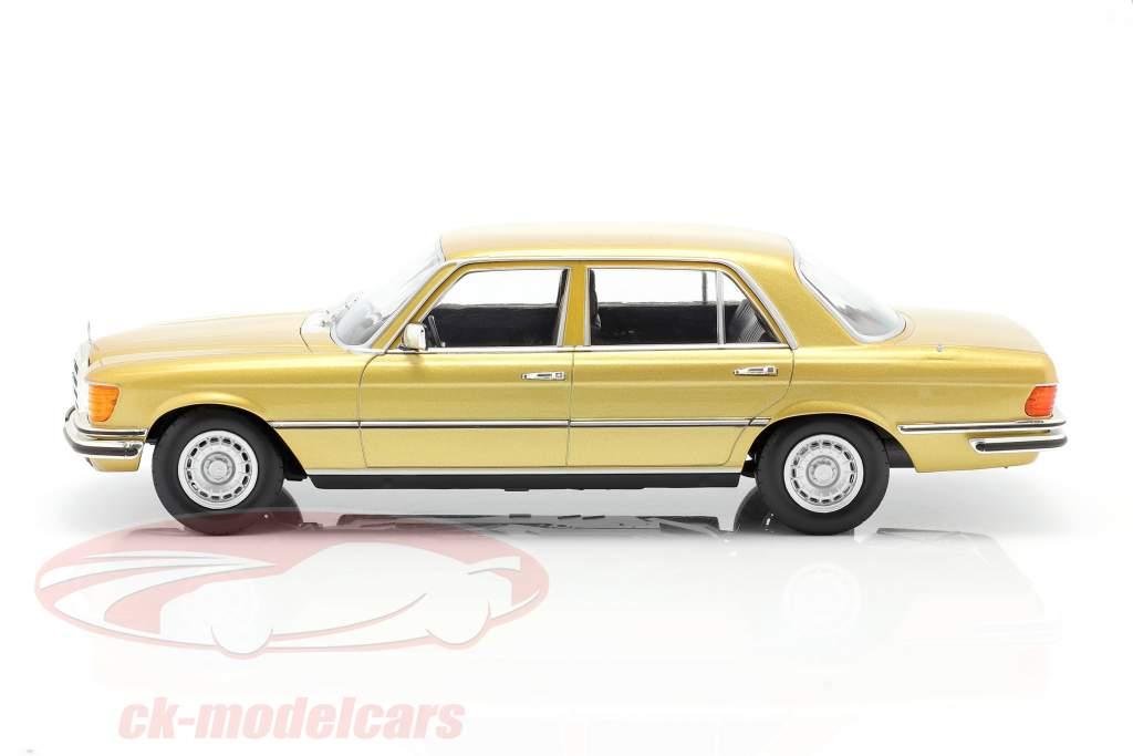 Mercedes-Benz Sクラス 450 SEL 6.9 (W116) 1975-1980 ゴールド 1:18 iScale