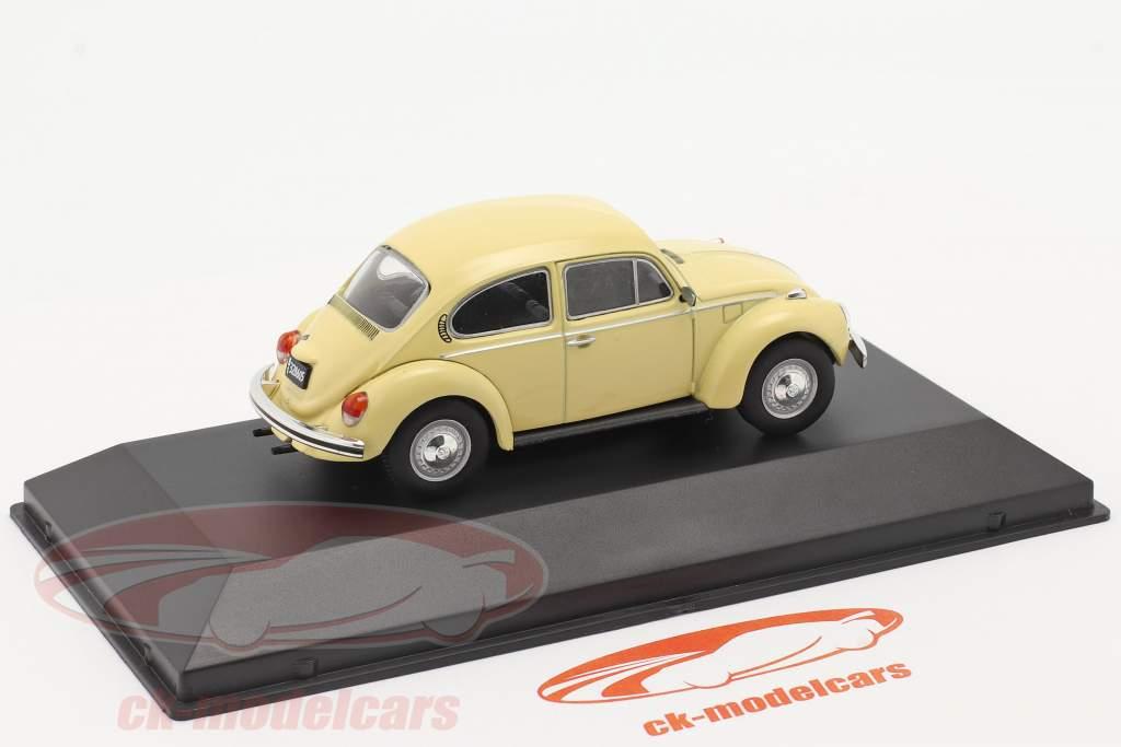 Volkswagen VW Scarabeo 1300L Anno di costruzione 1980 giallo chiaro 1:43 Altaya