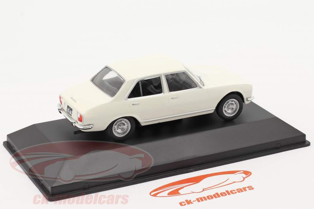Peugeot 504 Año de construcción 1969 blanco 1:43 Altaya